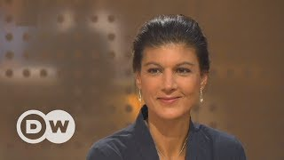 In the interview we are talking to sahra wagenknecht, deputy chairperson and candidate for left party. posing questions: editor-in-chief ines pohl, a...