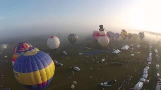 Lot balonem dla dwojga – Warszawa video