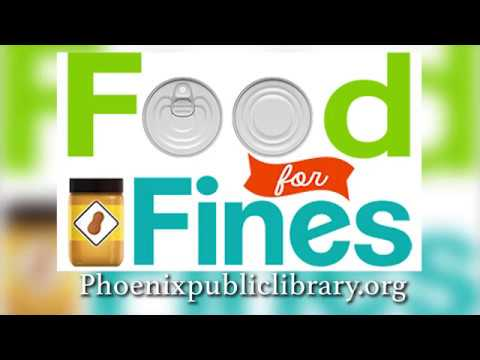 REDUCE LIBRARY FINES WITH FOOD DONATIONS AND HELP ST. MARY'S FOOD BANK ALLIANCE