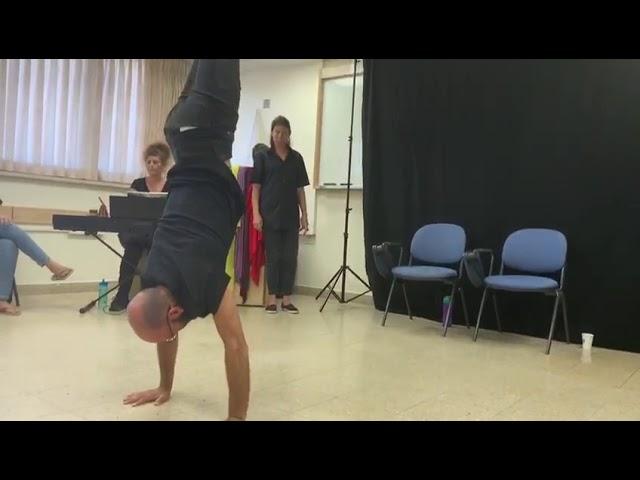 תיאטרון פלייבק בפתיחת קורס פיזיותרפיסטים