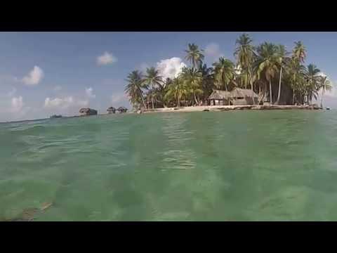 Short Free diving POV, Narasgandup, Naranjo Chico, Rio Sidra, Kuna Yala, Panama