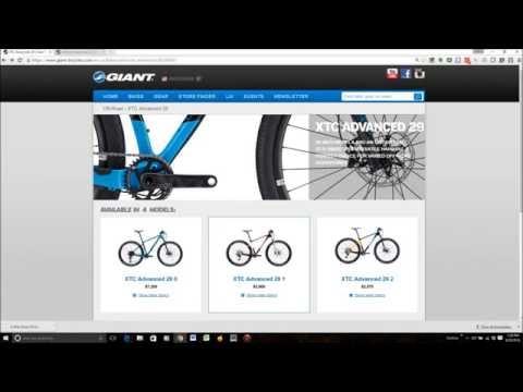 2017 Giant Bike Lineup