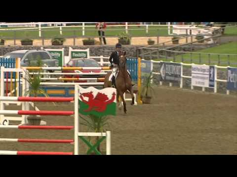 Showjumping - Helen Tredwelll on Opportunity B Profile - April 2008