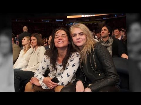 Michelle Rodriguez Wants To Start Family With Cara Delevingne Splash News Tv Splash News Tv Youtube