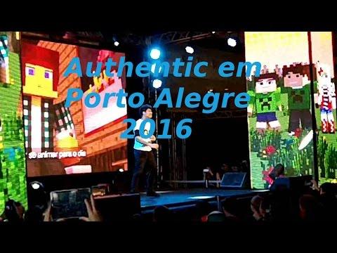 Show Do Authentic Games Em Porto Alegre 2016 - #1