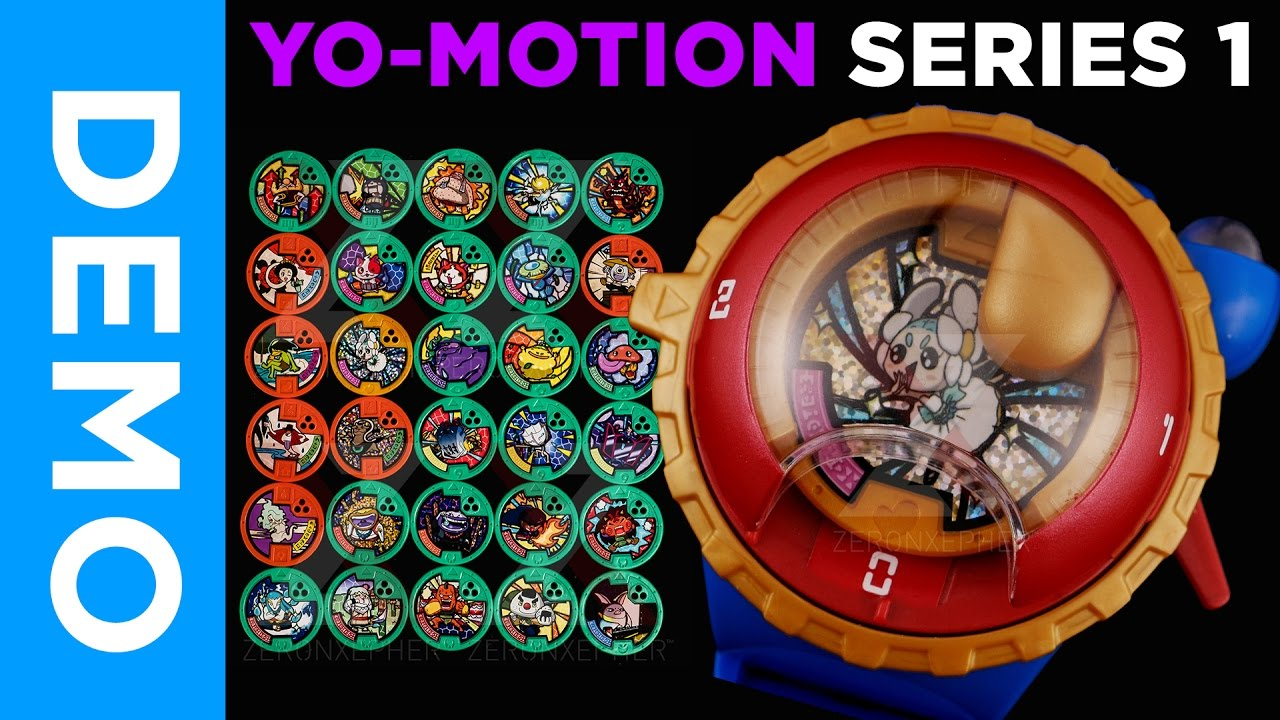 4k all yo motion series 1 medals qr codes giveaway for Decoration yo kai watch