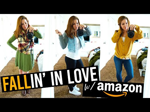 Fall Fashion Try On Haul From Amazon!
