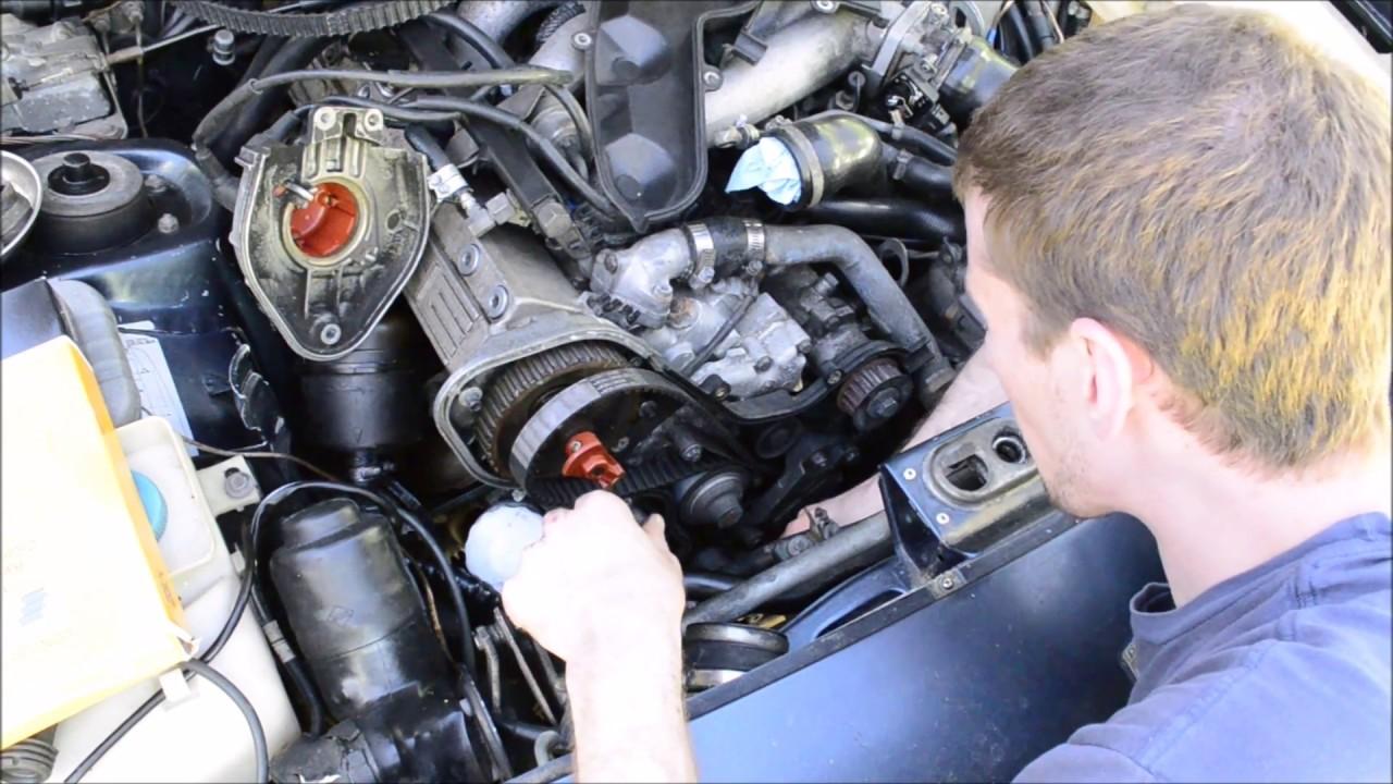 installing porsche 944 timing belt starting engine with new lifters timing belt water pump porsche timing belt #9