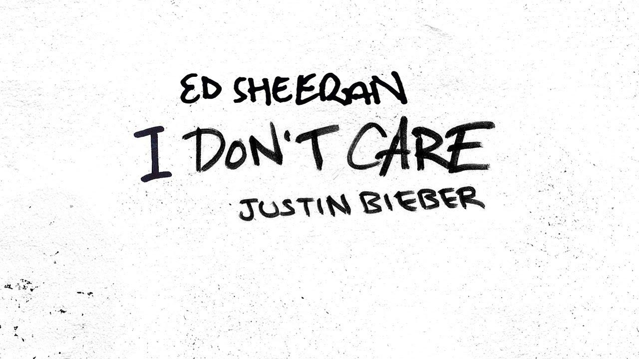 Ed Sheeran & Justin Bieber – I Don't Care (Official Audio)