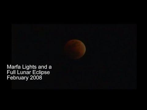 Full Lunar Marfa Lights 2007
