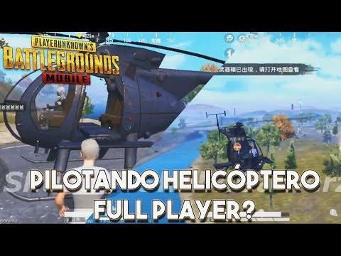PILOTANDO HELICÓPTEROS NO PUBG MOBILE - NOVO MODO FULL PLAYERS
