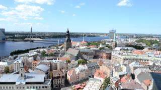 アキーラさん堪能!ラトヴィア・リガの絶景5,The city view of Riga,Latvia