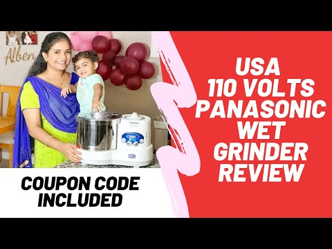 USA | Tamil | Panasonic Wet Grinder Review | Inno Concepts | Demo | Coupon Code Included |