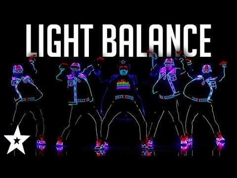 Light Balance FINALIST | ALL Performances | America's Got Ta