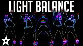 Light Balance FINALIST | ALL Performances | Americas Got Talent 2017