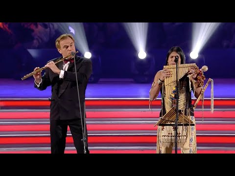 """Leo Rojas & Andrea Griminelli - Outstanding Performance With Orchestra """"Hallelujah"""" Duett"""