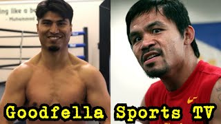 Manny Pacquiao vs Mikey Garcia Next | Pacquiao went to Errol Spence vs Garcia to Scout Mikey...