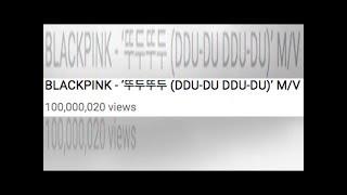 "BLACKPINK's ""DDU-DU DDU-DU"" Becomes Fastest K-Pop Girl Group MV To Hit 100 Million Views"