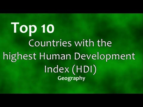 Top 10: Most Developed Countries
