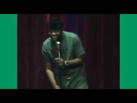 Comedian SLK at Lagos Laughs (@SLKomedy)