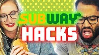 People Try Subway Secret Menu