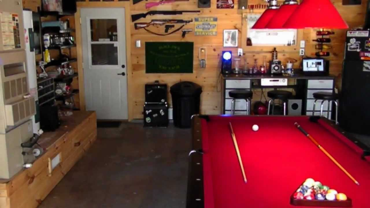 Man Cave East Delray : Man cave in progress youtube