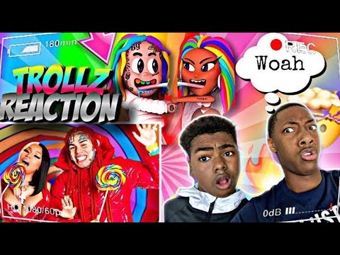 TROLLZ – 6ix9ine & Nicki Manaj (Official Music Video) REACTION!!!