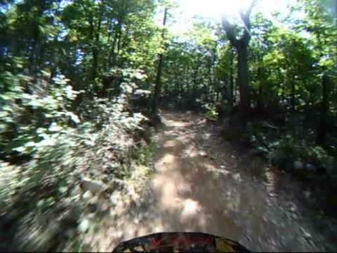 Peters Mill Taskers Gap Ohv Trail 433 First Hill Youtube
