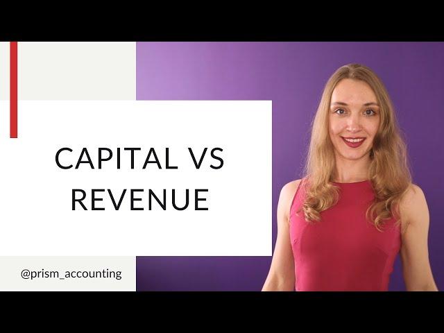 Capital vs Revenue