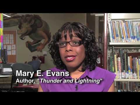 Thunder and Lightning Children's Picture Book Mary E. Evans