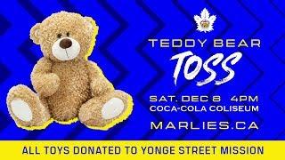 Marlies Teddy Bear Toss 2018