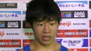【61kg級優勝・プレーオフ勝者】中村倫也(博報堂DYスポーツ)