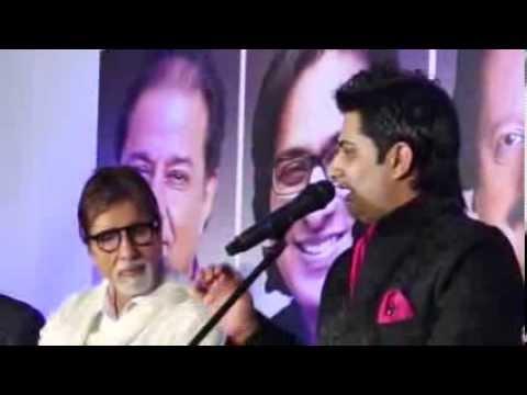 Sumeet Tappoo sings to Mr. Amitabh Bachchan - Neela Aasman