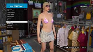 GTA 5 Online - Become Naked in GTA Online, Naked Character Glitch