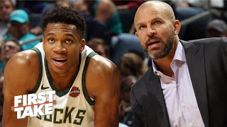 The Knicks want to hire Jason Kidd to lure Giannis in free agency - Stephen A. | First Take