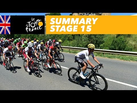 Summary – Stage 15 – Tour de France 2017