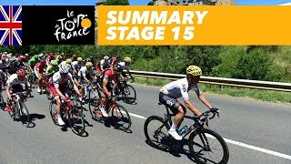 Summary - Stage 15 - Tour de France 2017