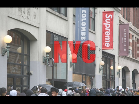 GOING TO THE SUPREME STORE IN NYC! - YouTube 25e8e92593