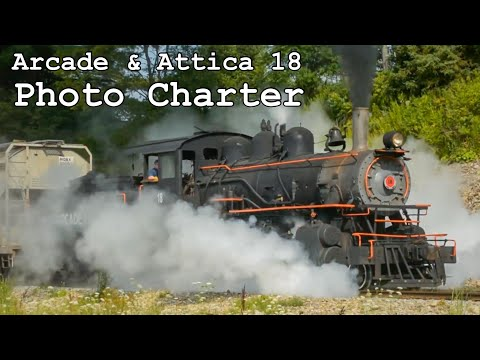 "Arcade & Attica Railroad 18 - ""Arcade August"" Photo Charter Comprehensive Official Video"