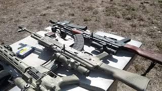Kevlar Helmet Vs. AR AK 47 AK 74 5.56 7,62X39 5,45X39