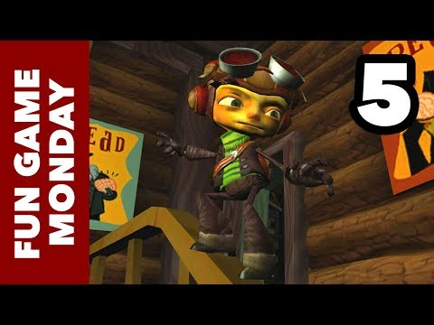 Fun Game Monday - Psychonauts Part 5