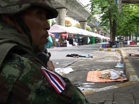 Thai protesters surrender after army crackdown