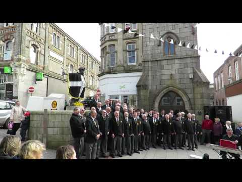 Four Lanes Male Choir: Trelawny Redruth PiranFest 2015