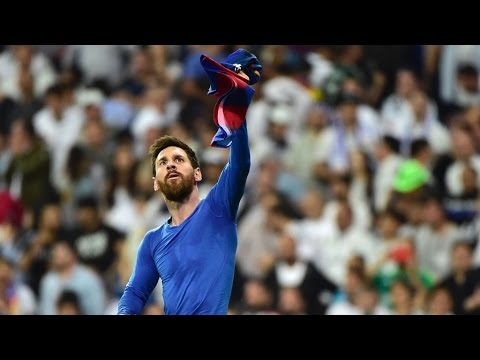 Lionel Messi Last Second Game Winning Goal Real Madrid Vs Fc Barcelona