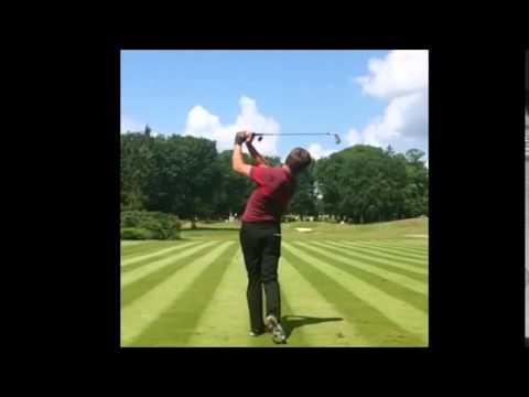 robert rock golf swing compilation