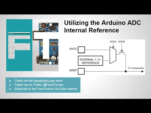 Utilizing the Arduino ADC Internal Reference