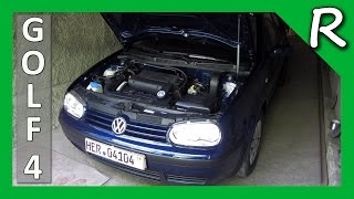 VW GOLF 4 1.4 16V 75 HP. Авто обзор / Car Review  [© Игорь Шурар 2014]