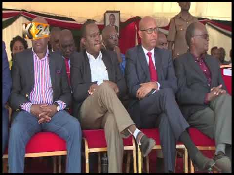 President uhuru commissions the new SGR phase 2 project