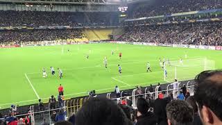 Fenerbahçe - Anderlecht  (Valbuena'nın Golü Tribün  Çekim)