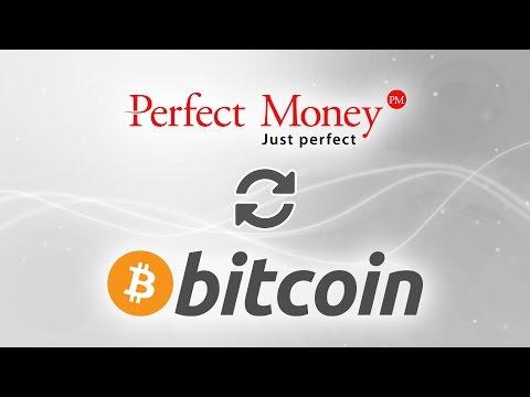 Как обменять средства в Perfect Money на BTC?